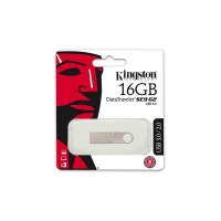 KINGSTON TECHNOLOGY DATATRAVELER SE9 G2 16GB 16GB USB 3.0 (3.1 GEN 1) USB-TYPE-A-AANSLUITING ZILVER USB FLASH DRIVE
